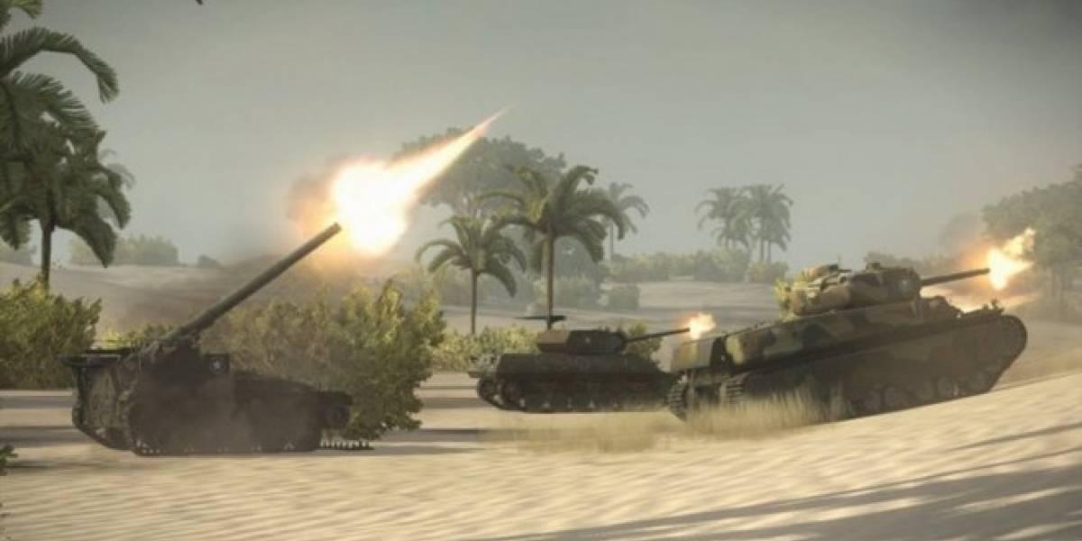 Ya se pueden registrar para la beta de World of Tanks en Xbox 360