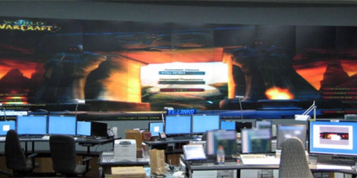 World of Warcraft + Bioshock + Pantalla HD de 12 x 4 metros: WOW