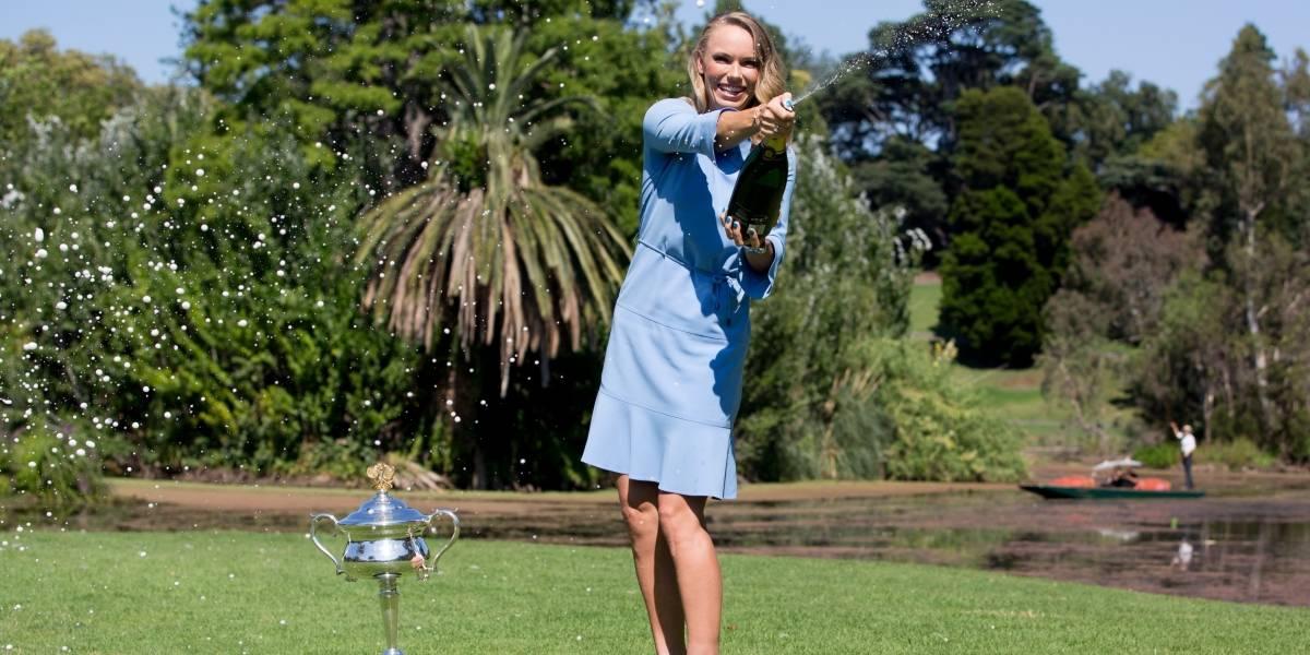 Caroline Wozniacki gana primer Grand Slam de su carrera