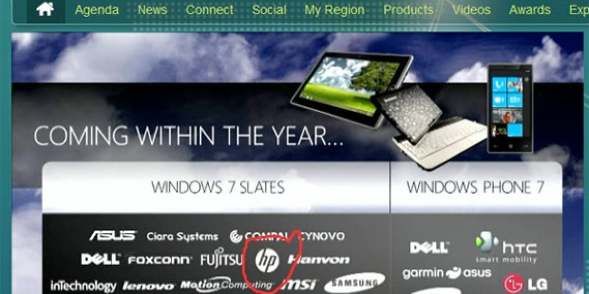 Tablets con Windows 7 disponibles en masa para fin de año
