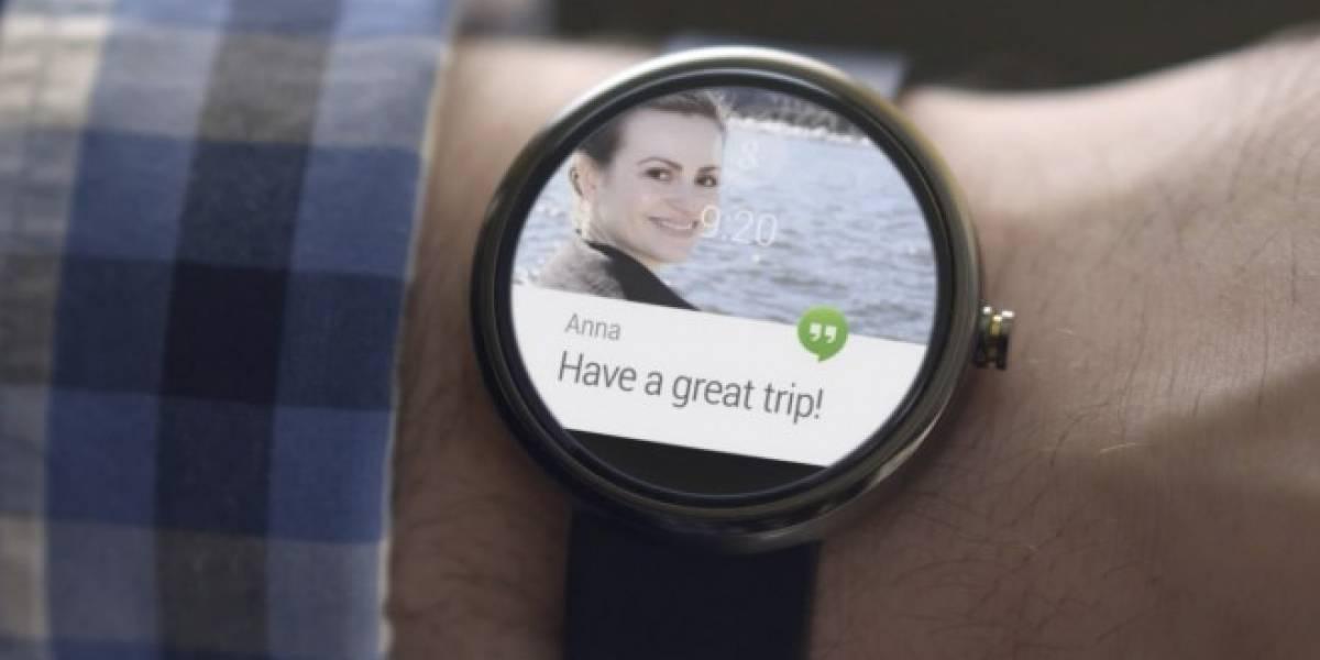 WhatsApp para Android Wear te permitirá leer y responder mensajes desde tu reloj