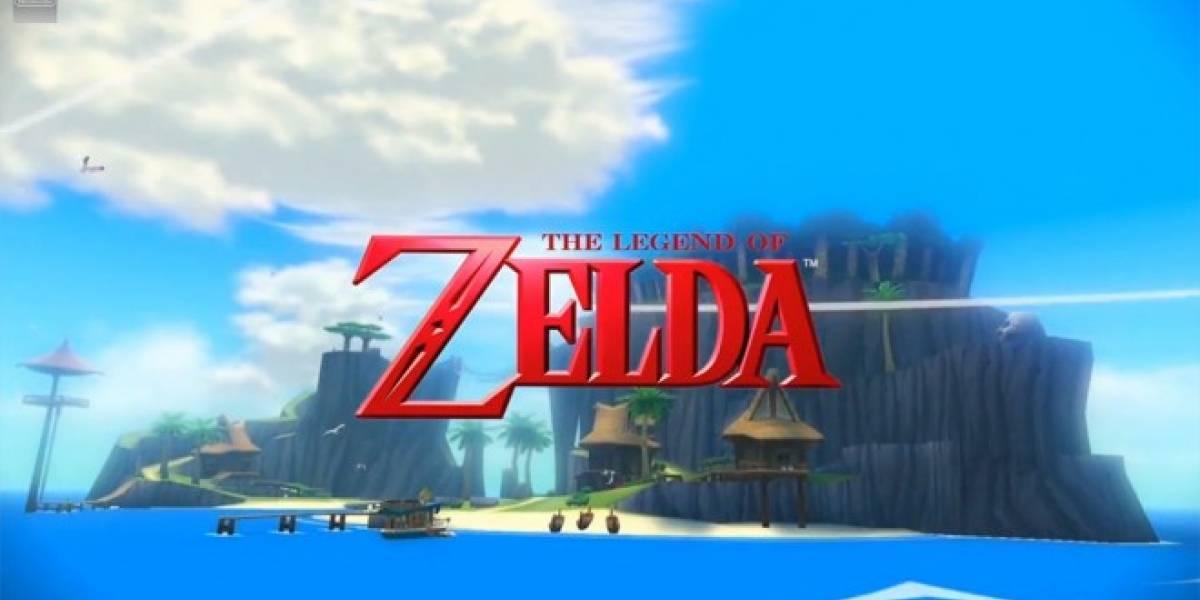 Remasterización de The Legend of Zelda: The Wind Waker llegará en octubre a la Wii U #E3
