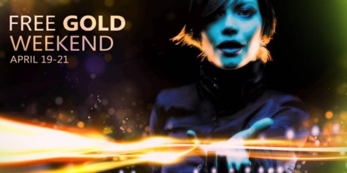 Este fin de semana, Xbox Live Gold será gratuito en el continente americano