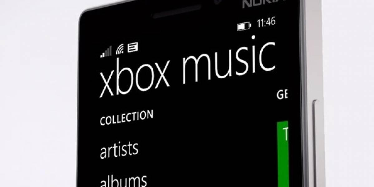 Nueva actualización recibe Xbox Music para Windows Phone 8.1