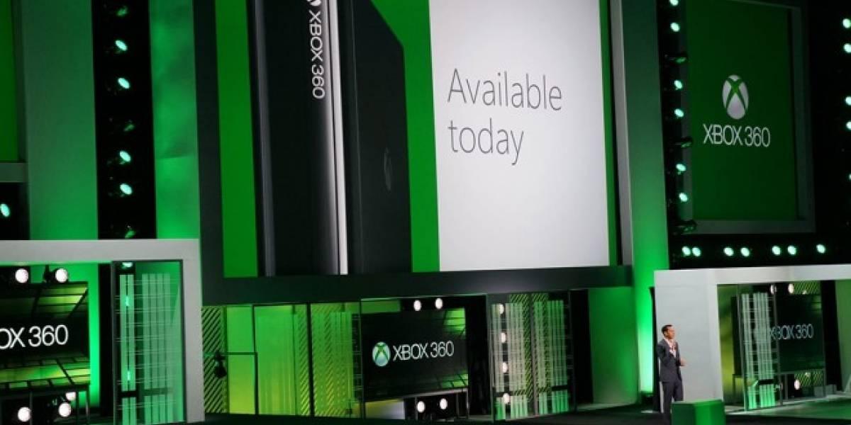 Microsoft anuncia nuevo diseño para Xbox 360 #E3