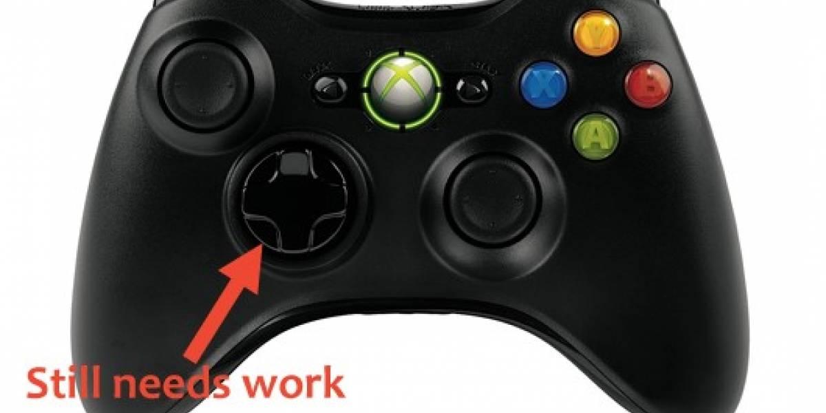 Microsoft: Nuevo control para la Xbox 360 con D-pad mejorado [Actualizado]