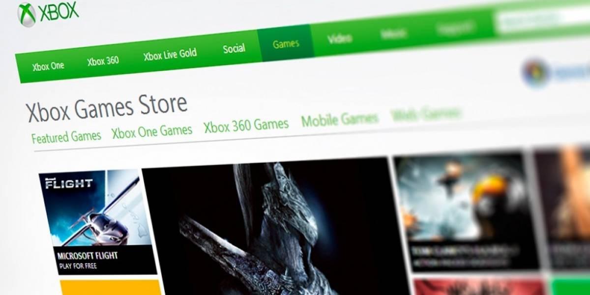 Xbox.com le dice adiós a su tienda para juegos de PC