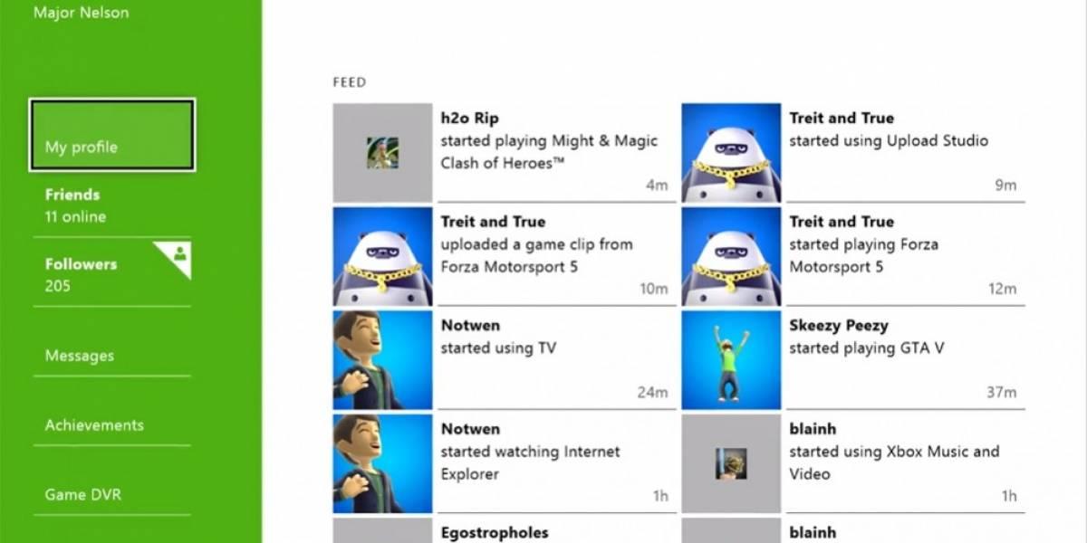 No se podrán usar nombres reales en Xbox Live durante el lanzamiento de Xbox One