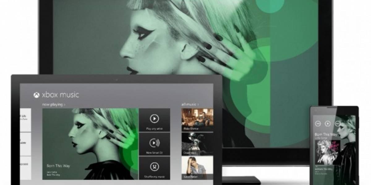 Xbox Music llegará a los navegadores