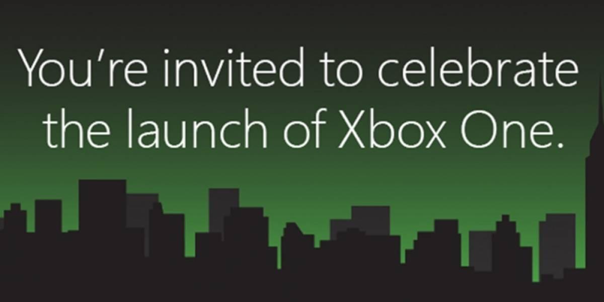 Microsoft prepara evento masivo para el lanzamiento de la Xbox One