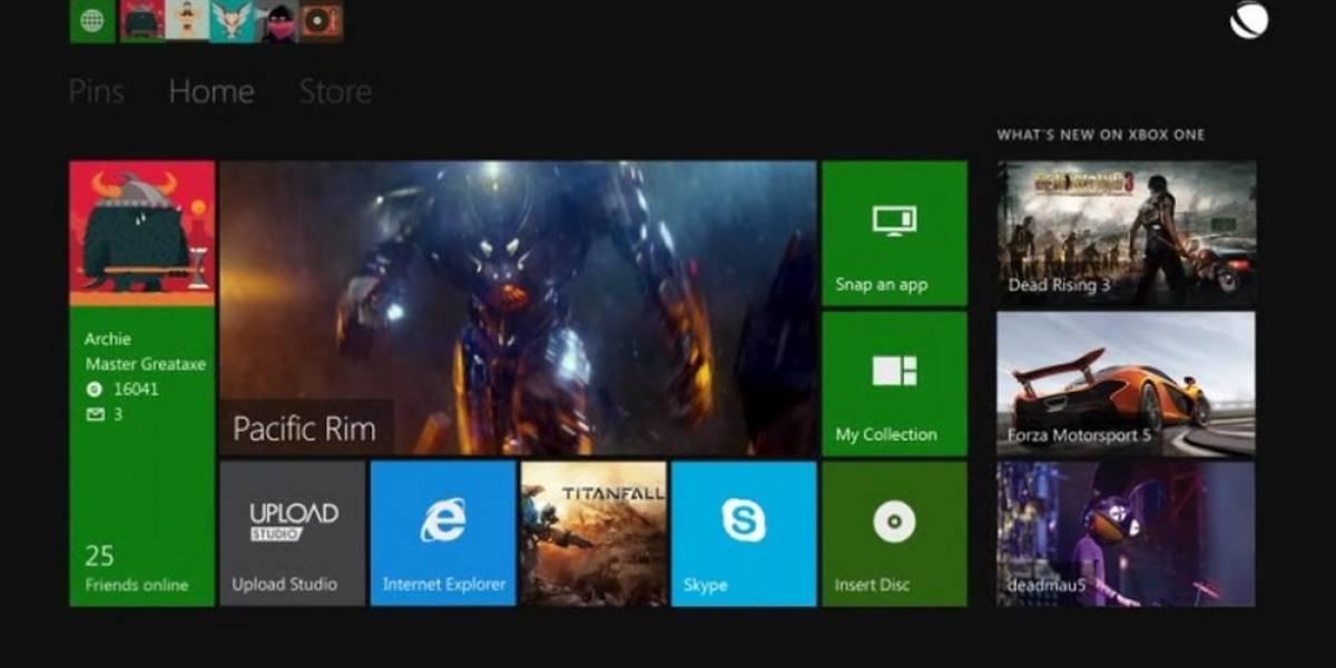 Así funciona la nueva interfaz de la Xbox One