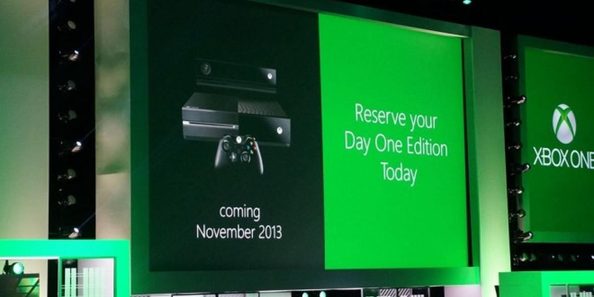 Xbox One costará USD$500 y saldrá en noviembre #E3