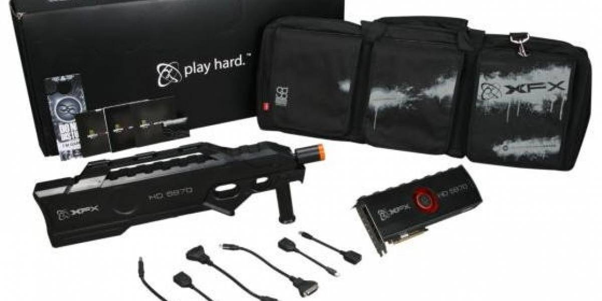 XFX HD 5970 de 4Gb llegó al mercado y es carísima