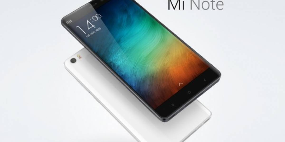 La primera phablet de Xiaomi son Mi Note y Mi Note Pro