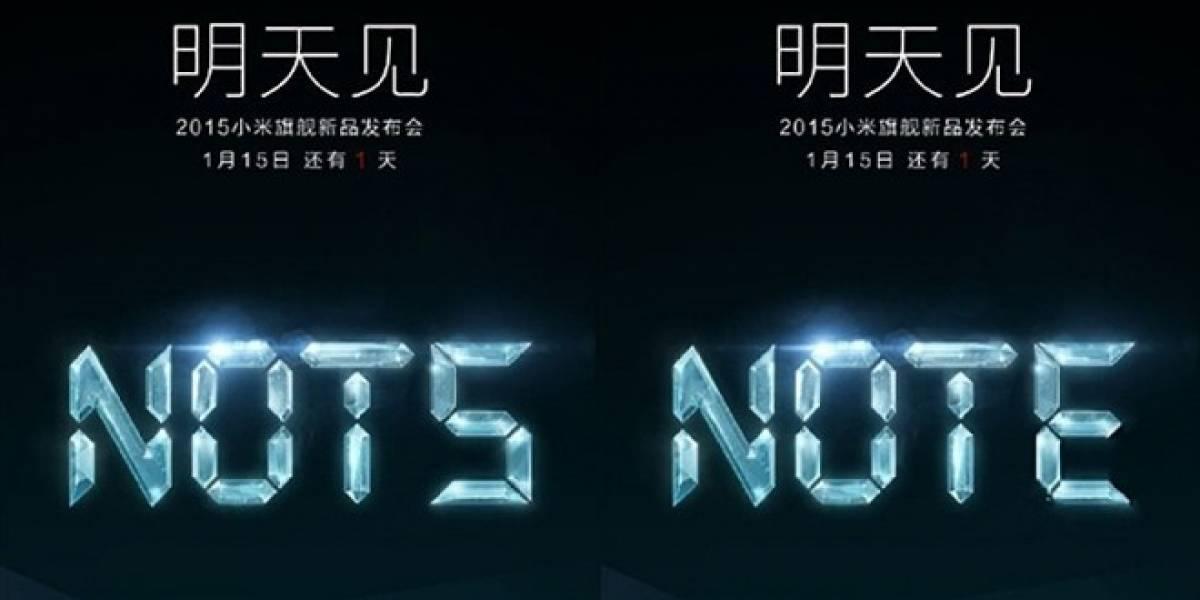Xiaomi Note podría ser revelado en unas horas