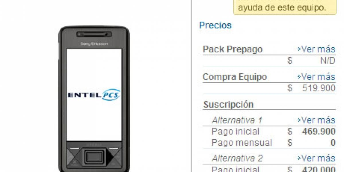 Entel PCS trae el Sony Ericsson XPERIA X1