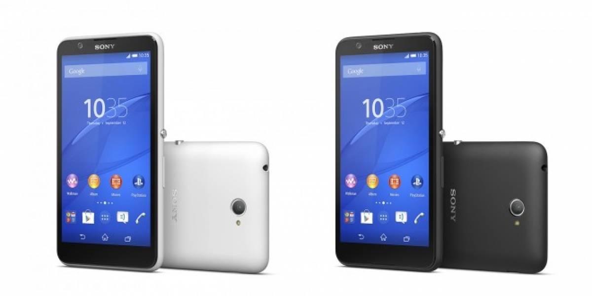Sony anuncia el Xperia E4