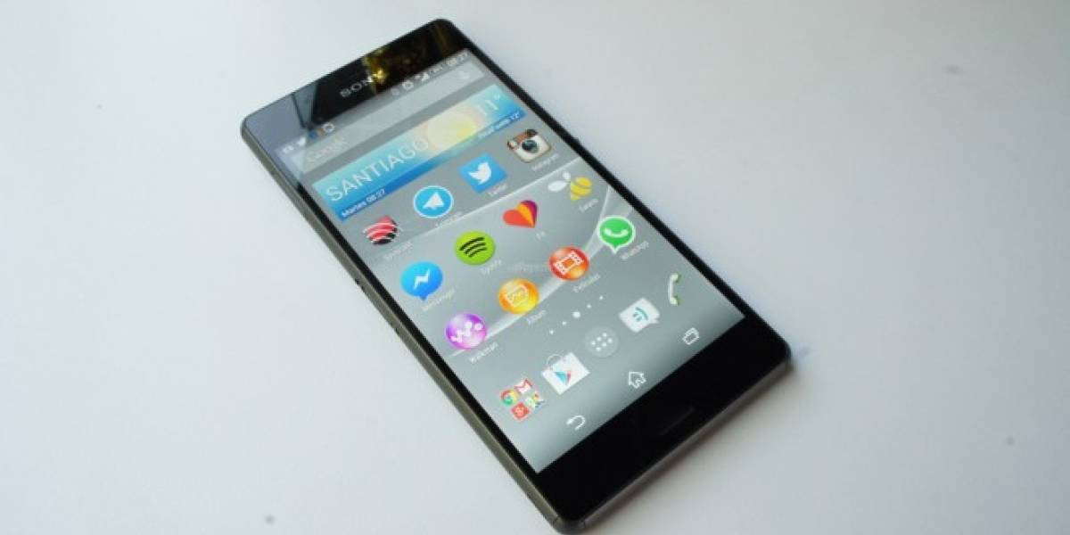 Xperia Z3 se actualizará a Android Lollipop la próxima semana