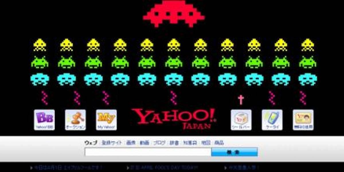 Imperdible: Yahoo! Japón celebra los 30 años de Space Invaders