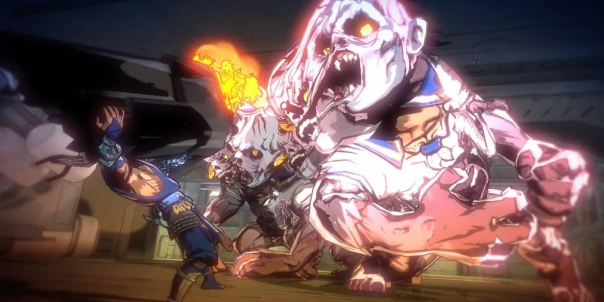 Máquinas, zombis y armas en video de Yaiba: Ninja Gaiden Z
