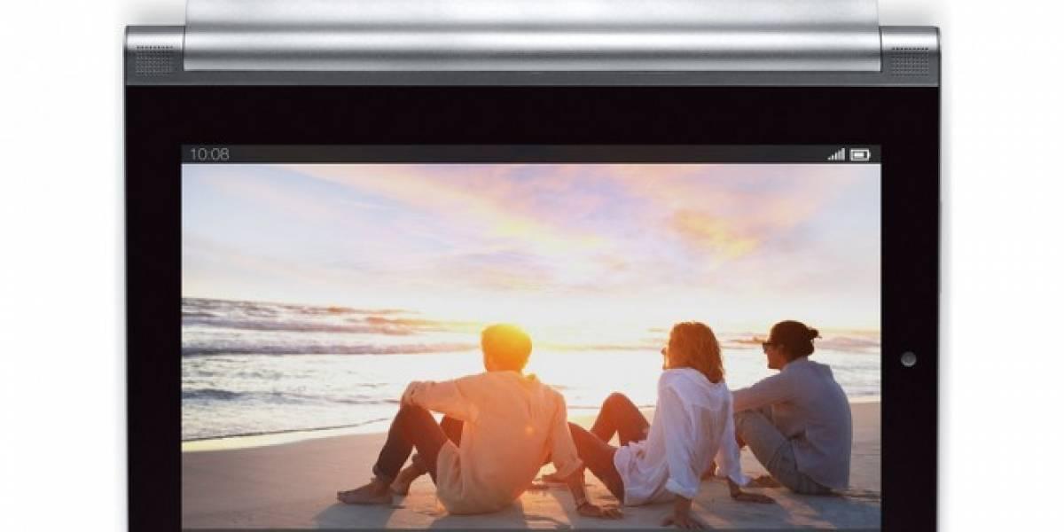 Ya es oficial la nueva tablet Lenovo Yoga 2 y llega en tamaños de 8 y 10 pulgadas