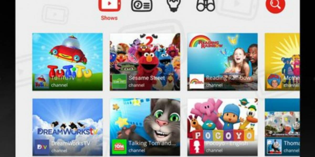 Google lanzará una aplicación de YouTube para niños