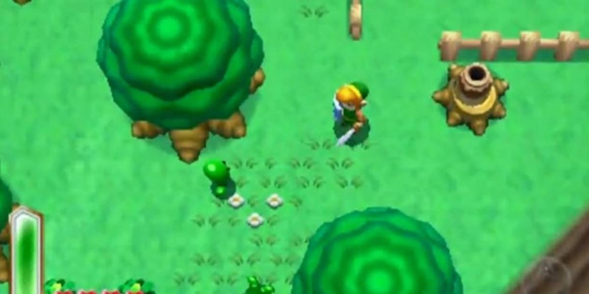 Mira un video con 10 minutos de jugabilidad de The Legend of Zelda 3DS