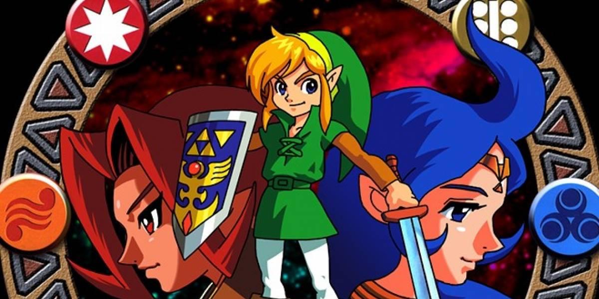 The Legend of Zelda: Oracle of Ages y Oracle of Seasons llegarán a la 3DS en mayo