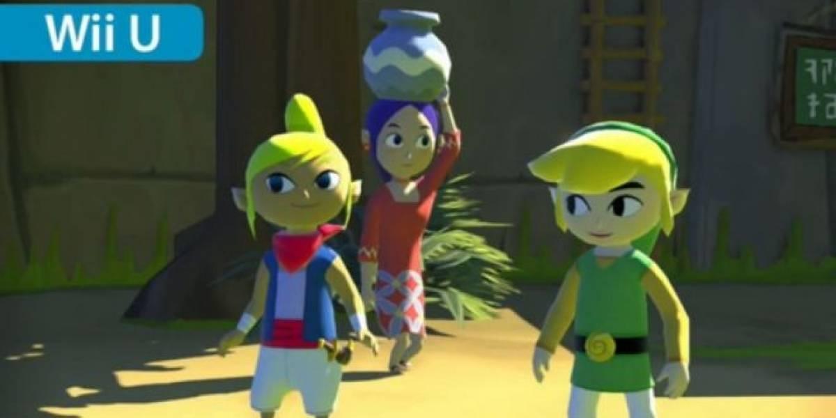 Zelda: The Wind Waker llegará a la Wii U en alta definición