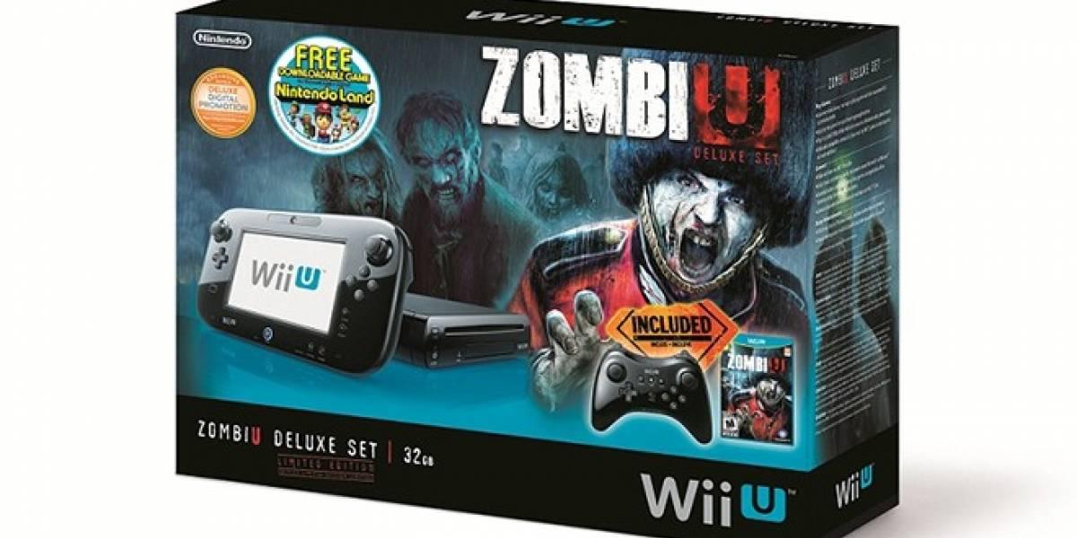 Nintendo lanzará Bundle de Wii U Deluxe con ZombiU