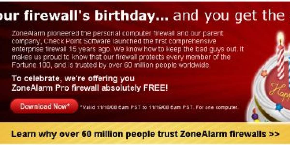 Descarga el ZoneAlarm Pro Gratis.