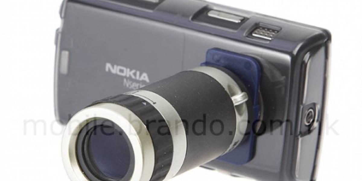 Agrega Zoom óptico a tu celular con un lente externo