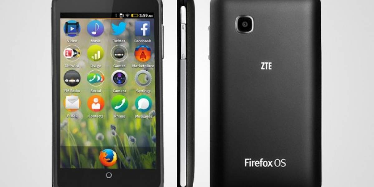 ZTE Open C, nuevo smartphone con Firefox OS