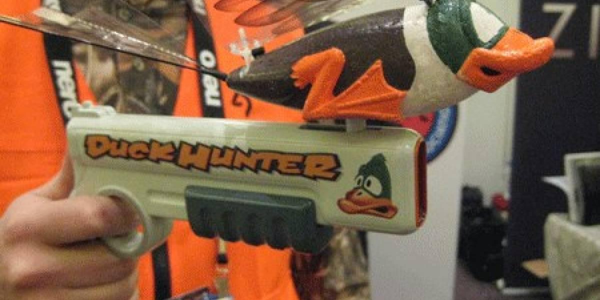 CES09: Cazando patos de mentira con DuckHunter
