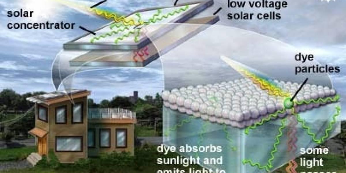 Solar Concentrator: Energía eléctrica en tu ventana