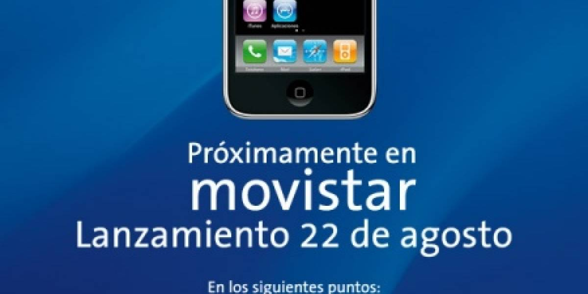 Movistar distribuirá el iPhone 3G en más lugares