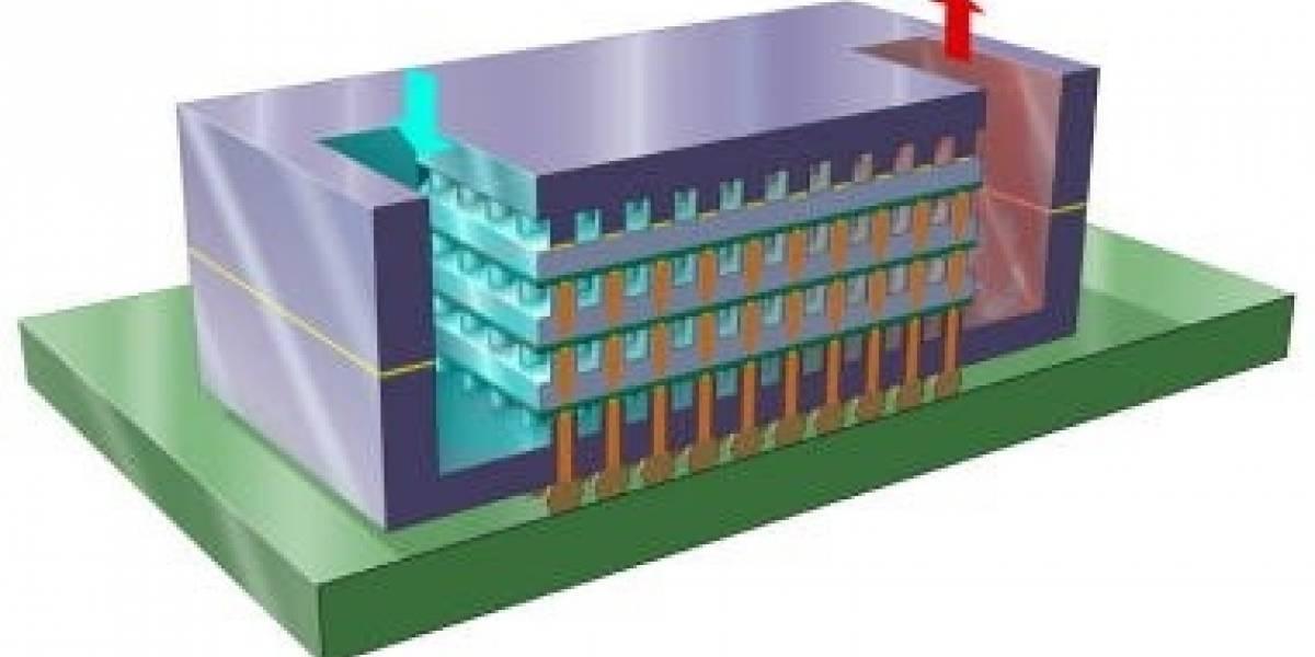 IBM está desarrollando chips enfriados por agua