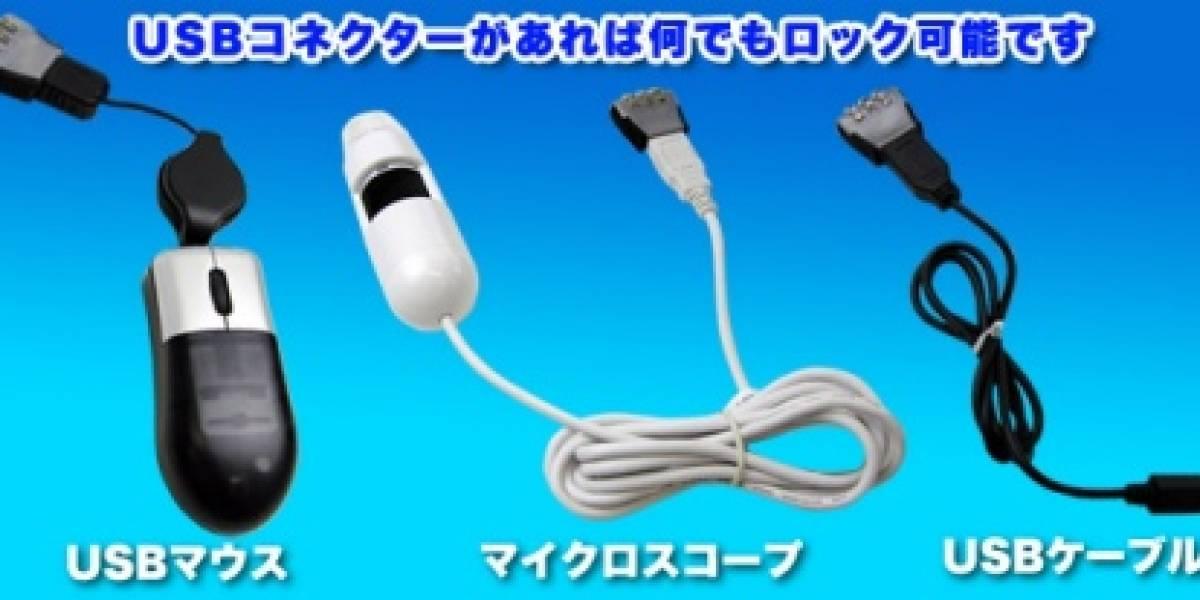 USB Block: Candado para memorias USB