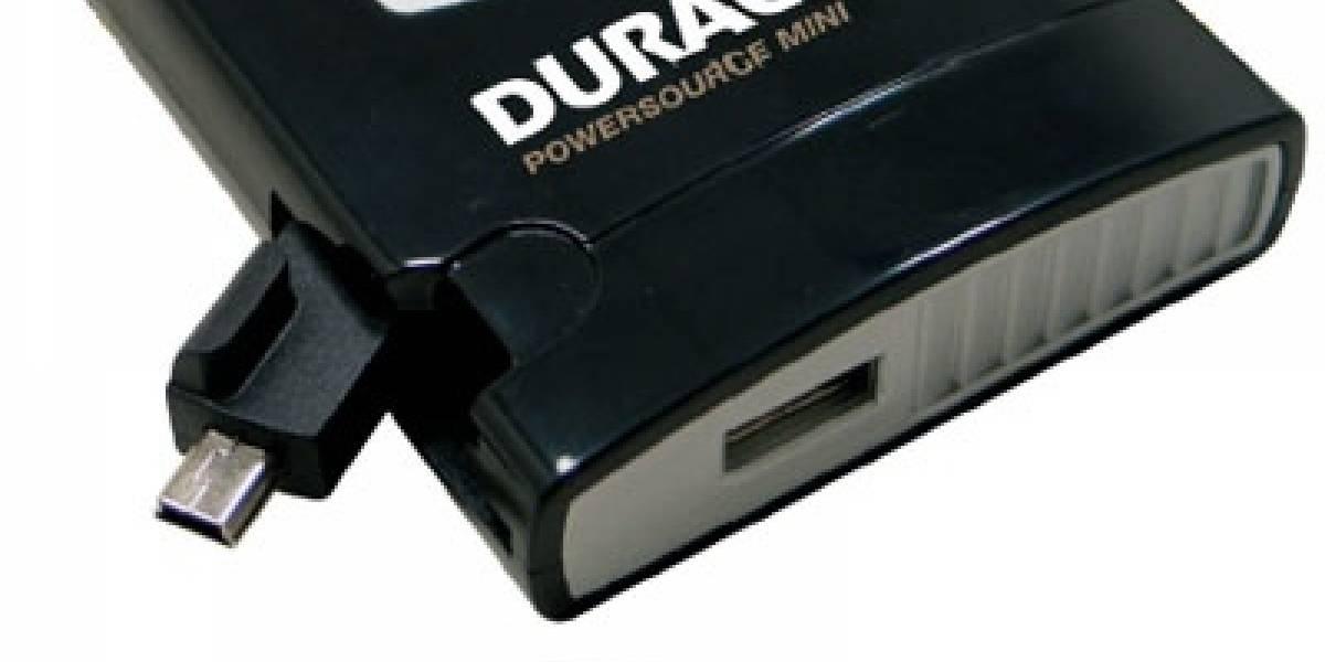 Cargador de dispositivos portátiles PowerSource Mini de Duracell