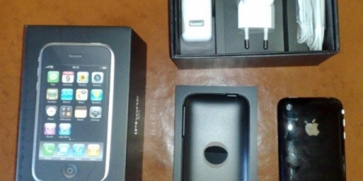 El iPhone 3G sale del closet