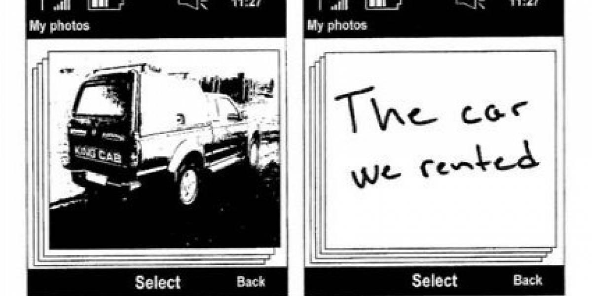 Nokia quiere patentar la escritura en el reverso de las fotografías digitales