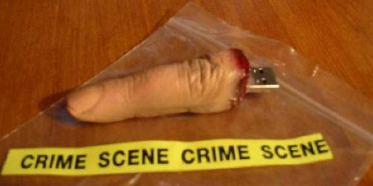 Impresentable: El horripilante dedo USB