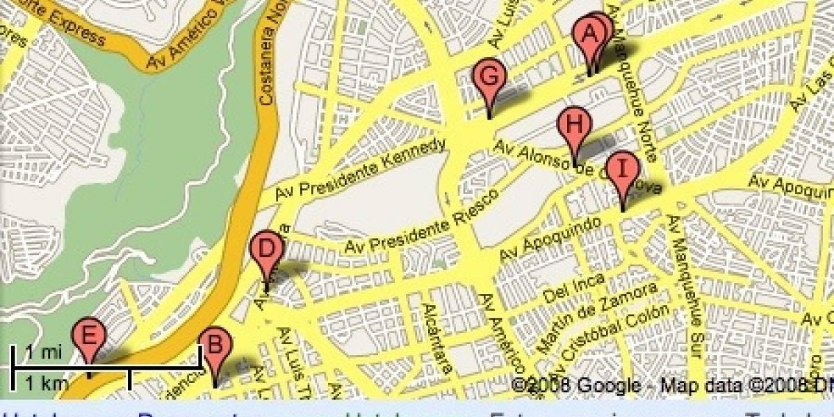 Google comienza a colocar avisos de texto en Google Maps