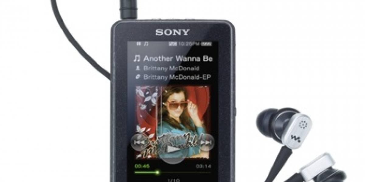 CES09: Sony X Series Walkman con pantalla táctil OLED