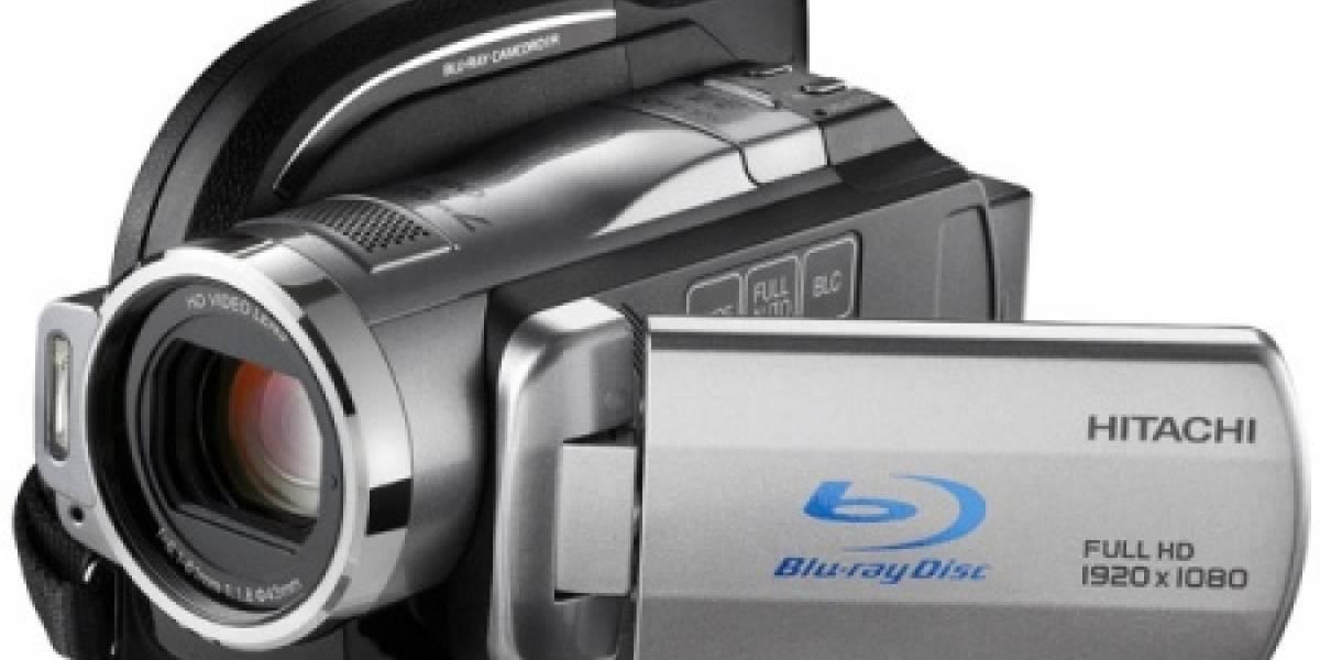 DZ-BD10HA: Nueva cámara HD de Hitachi que graba a disco duro, SDHC o Blu-ray