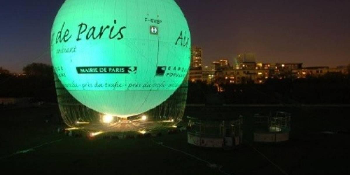 Air de Paris: El globo que delata la contaminación del aire parisino