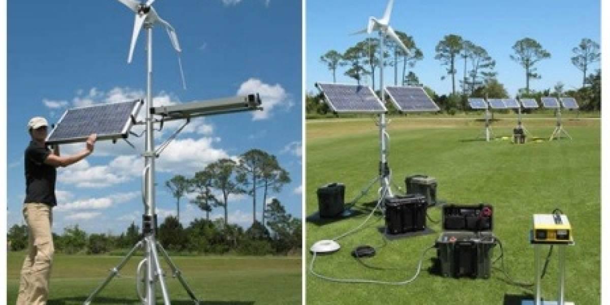 Solar Stik Breeze: Energía solar y eólica transportable