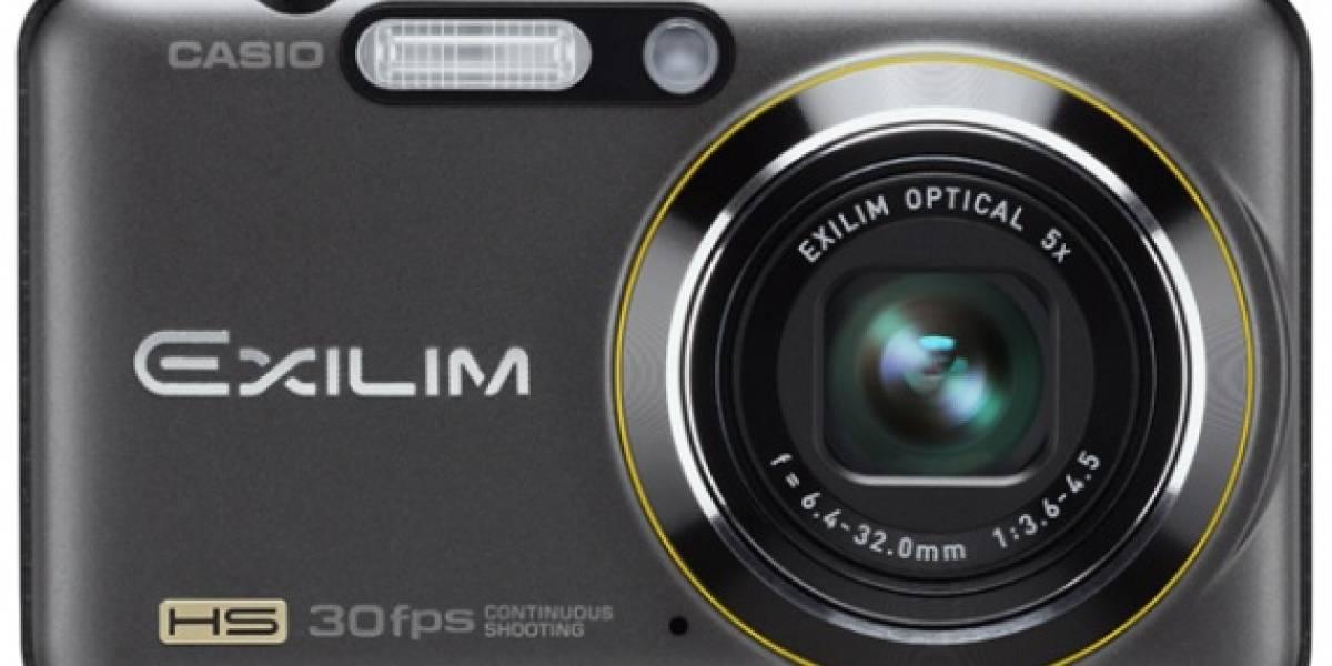 CES09: Casio EXILIM EX-FS10 y EX-FC100 capturan video a 1.000 fps