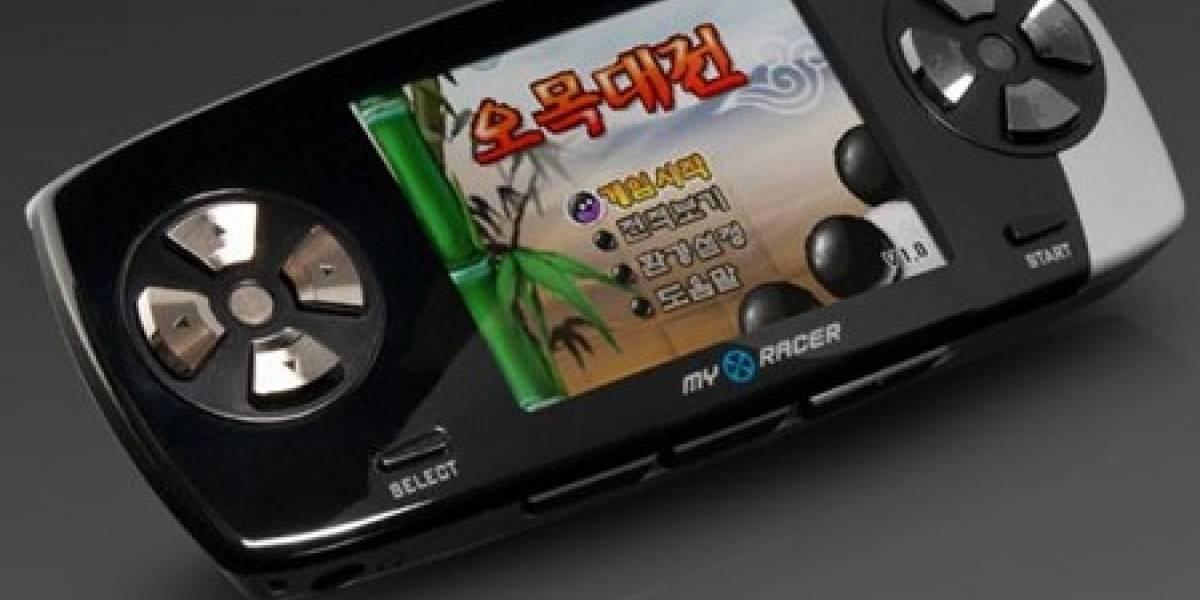 MyRacer MF101: Consola portátil con soporte para juegos Flash