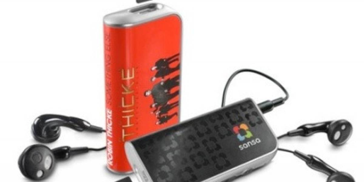 Sansa slotMusic: SanDisk lanza su reproductor de MP3 para tarjetas MicroSD